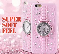 High Quality Watch Style with Stand Back Cover for iPhone 6S Plus/6 Plus  (Assorted Colors)