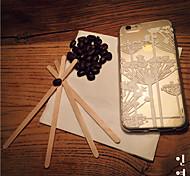 maycari®pure Löwenzahn transparente TPU Tasche für iPhone 6 / iphone 6s