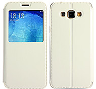 KALAIDENG Sun Series Super Thin View Leather Case for Samsung A8