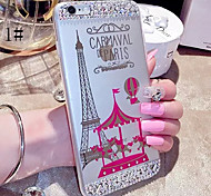LADY®Elegant Mobile Case/Cover for iphone 6/6s(4.7) with Silicone Material and Cartoon Style, More Colors Available