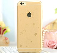 High Quality Sky Star Pattern Back Cover for iPhone 6 (Assorted Colors)