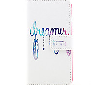Dreamcatcher  Design PU leather phone Case For LG Leon  H340N