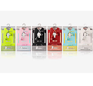 KEEKA EE-23 Stylish In Ear Earphone Noise-Cancelling With Microphone for Cellphone(Assorted Colors)