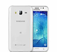 Retour silicone couvercle transparent pour Samsung Galaxy J7