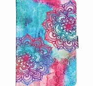 10-Inch General Purpose Diagonal Flowers Pattern Standoff Protective Case for iPad 2/3/4/Air/Air2