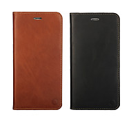Oil Edge Holster Models First Layer of Leather Wallet for iPhone 6 (Assorted Colors)