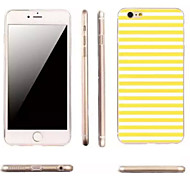 For iPhone 6 Case / iPhone 6 Plus Case Ultra-thin / Pattern Case Back Cover Case Lines / Waves Soft TPUiPhone 6s Plus/6 Plus / iPhone