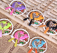Jewelry Ducks Pendant Chain Long Choker Necklace