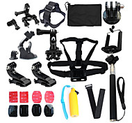 16-in-1 Gopro Kit Accessories For GoPro Hero 1 2 3 3+ 4 4s Camera