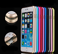 Aluminum Metal Frame Edge Plum Buckle Bumper Border Protective Bumper Case for iPhone 6 4.7 Inch Only
