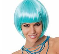 usine de vente chaude Vente en gros bleu tête couleur de bobo est perruque style chaud de style euroaméricains