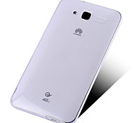 Transparent Silicone Back Cover For Huawei GX1