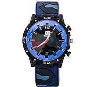 Men's Sport Watch New Silicone Quartz Watch Sport Climbers Camouflage Pattern(Assorted Colors) Wrist Watch Cool Watch Unique Watch