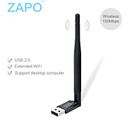 ZAPO W88 Mini USB WIFI wireless network card 150M accept transmitter