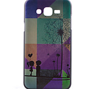 Dandelion Pattern PC Material Cell Phone Case for Samsung Galaxy J1/J5/J7
