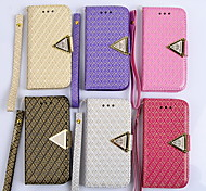 PU New Style Fashion Masonry Face Mobile phone Case for iPhone 5S/5 Assorted Color