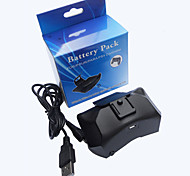 1000 MAH Back Battery Power Pack for PS4 Wireless Controller