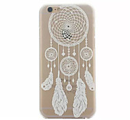 White Dreamcatcher Pattern Hard Back Case for iPhone 6