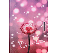 Dandelion Pattern PU Leather Protective Sleeve For Samsung Galaxy /T550 /T530/T350/T230/T560