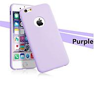 ultra-mince affaire TPU doux retour silicone Housse pour Apple iPhone 6 plus / 6s et plus (couleurs assorties)