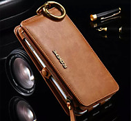 PU Leather Zipper Handbag Wallet Purse with Card Slot Phone Case Cover for iphone 6 Plus/ 6S Plus (Assorted Colors)