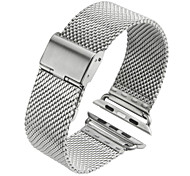 Wide Mesh Metal Watch Chain With connector for Apple Watch 42mm