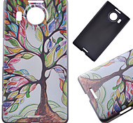Color Tree Pattern PC Hard Cover Case for NOKIA 950 XL
