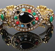 Fine Color Diamond Water Droplets Bracelet