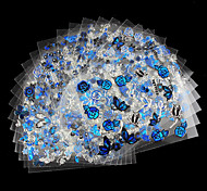 12pcs - Autocollants 3D pour ongles / Bijoux pour ongles - Doigt - en Adorable - 62mm*52mm