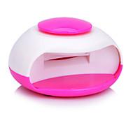 xs-988 mini asciugatrice chiodo portatile uv luce elettrica mano punta - bianco (3 x aaa)