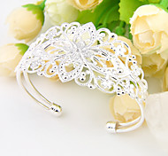 mejores incendios precio de regalo de la familia amiga vacaciones 0.925 de plata brazaletes pulseras ajustables para la fiesta de la boda