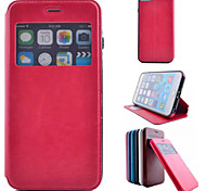 Crazy Ma Wen PU Leather Full Body Case with Strap and Sticker for iPhone 6 Plus/iPhone 6S Plus