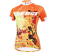 ilpaladinoSport Women Short Sleeve Cycling Jersey New Style Distinctive  DX587  autumn Trust 100% Polyester