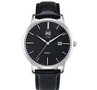 AIBI® Men's Fashion Watch Calendar Water Resistant Fabio Miami Black Dress Watch Gift Wrist Watch For Men Cool Watch Unique Watch With Watch Box
