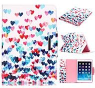 Novelty Cartoon Magnetic Buckle PU Leather Folio Case Shockproof Case for iPad 2/3/4