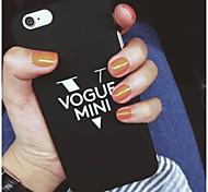vogue mini-ordinateur pc cas à couverture rigide pour iPhone6 / 6s