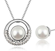Women Party / Casual Alloy Necklace / Earrings Sets