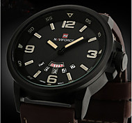Мужской Армейские часы Наручные часы Кварцевый Японский кварц Кожа Группа