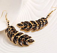Top Sale Bohemia Vintage Wholesale Women Rhinestone Drop Earring