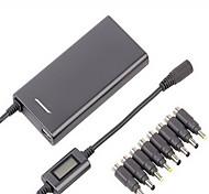 lvsun® 5-24V 4a 15mm ultra mince adaptateur secteur / ac chargeur de portable universel
