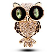 Korean Fashion Owl Brooch