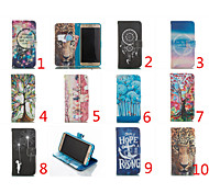 Double Sided Cartoon Pattern Leather Flip Stand Cover Mobile Phone Bags Cases For Galaxy A5/A7
