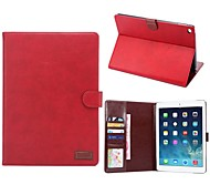 New Full Body Cases PU Leather Flip Cover Tablet Protective Case with Stand for iPad Mini 2/3