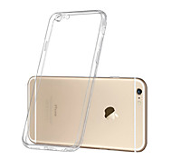 Beittal Transparent ​ Protective Cover TPU Case with Dust Plugs for iPhone 6/6S ​  (Assorted Color)