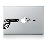 """diseño de pistola adhesivo decorativo para el macbook 13 """"aire / pro"""