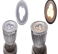 3W 3LED 300LM LED Spotlight Lighting Silver Assorted-color
