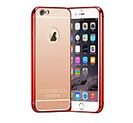Luxury 24K Gold Plating Ultra-Thin Metal Frame Case for iPhone 6s 6 Plus
