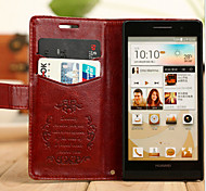 PU Leather Fine Grain Leather Sheep For Huawei P6 Mobile Phone Protective Sleeve