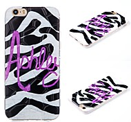 Plus iphone6 zebra pattern 3D mobile phone shell