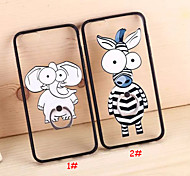 Zebra Elephant Ring Buckle Cases for iPhone 6 Plus/iPhone 6S Plus(Assorted Colors)
